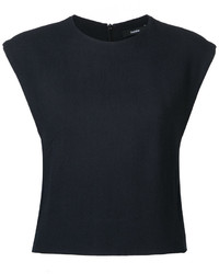 Bassike Cropped Tank Top