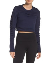 Alo Ripped Warrior Crop Top