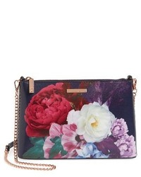 Ted Baker London Blushing Bouquet Crossbody Bag Blue