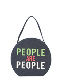 Christian Siriano People Are People Shoulder Bag