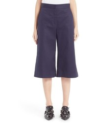 MSGM Crop Wide Leg Pants