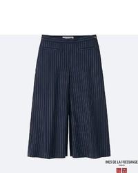 Uniqlo Idlf Twill Rayon Culottes Pants