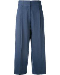Diane von Furstenberg Wide Legged Cropped Trousers