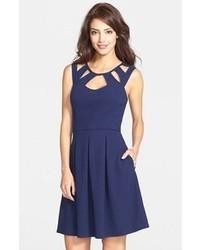 Cutout fit flare dress medium 80268