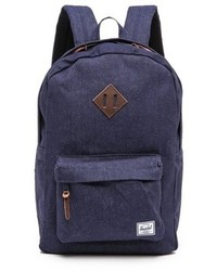 Navy Denim Backpack