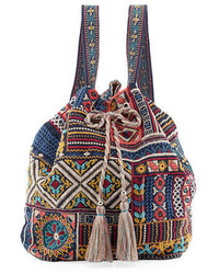 Jwla for arwen embroidered drawstring backpack medium 3697734