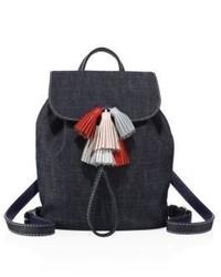 Rebecca Minkoff Sofia Denim Drawstring Backpack