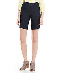 Intro Hailey Denim Bermuda Shorts