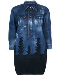 Dsquared2 Denim Forest Top