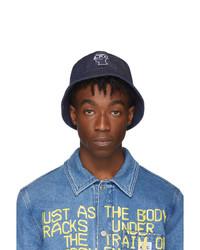 A.P.C. Indigo Brain Dead Edition Bob Bucket Hat