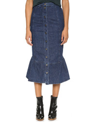 Rachel Comey Range Denim Skirt