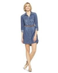 Denim shirt dress medium 67619