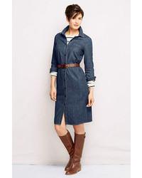 Denim shirt dress medium 67620