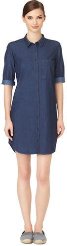 4204cac85d9 ... Calvin Klein Jeans Denim Shirt Dress ...