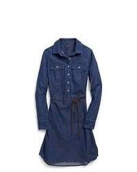 Tommy Hilfiger Denim Pullover Shirt Dress