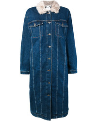 Stella McCartney Long Oversized Denim Coat