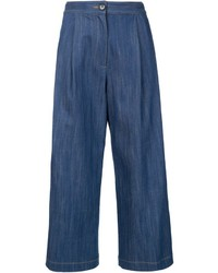 Adam by adam lippes adam lippes denim culottes medium 631548