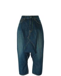 Junya Watanabe Drop Crotch Cropped Jeans