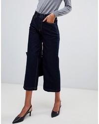 Mango Wide Leg Clean Wash Jean
