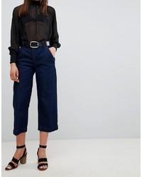 New Look Wide Leg Crop Jeans