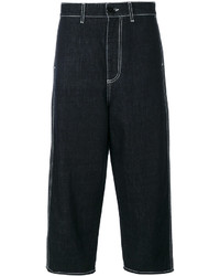 Marni Denim Cropped Trousers