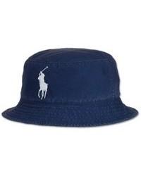 Navy Denim Hat