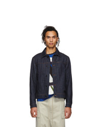 Moncler Genius 5 Moncler Craig Green Indigo Denim Rock Jacket