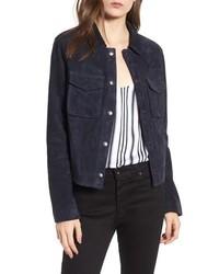 Ari suede trucker jacket medium 8711425