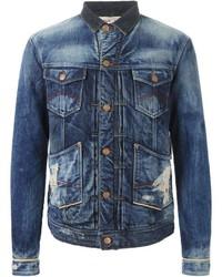 Armani Jeans Stone Washed Denim Jacket