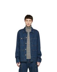 Acne Studios Blue Bla Konst Denim Albyr Jacket