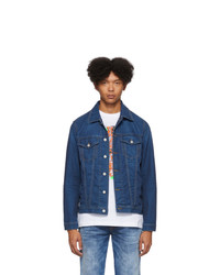 Diesel Blue Denim Hill Ne Jacket