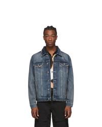 Ksubi Blue Denim Oh G Jacket