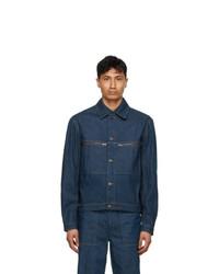 Lemaire Blue Denim Trucker Jacket