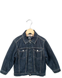 Burberry Boys Denim Puffer Jacket