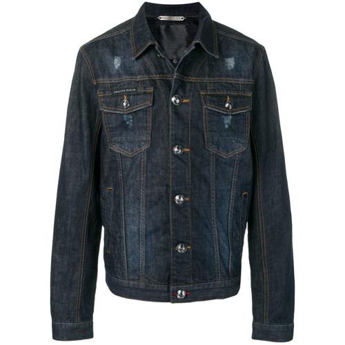 Philipp Plein Classic Denim Jacket
