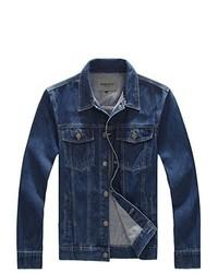 Jinmen Classic Rugged Wear Unlined Denim Jacket M 6xl