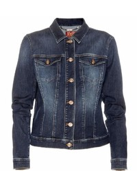 7 For All Mankind Classic Trucker Denim Jacket