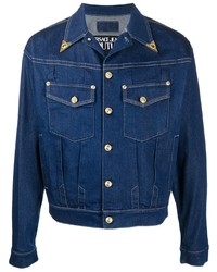 VERSACE JEANS COUTURE Cropped Denim Jacket