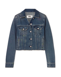 MM6 MAISON MARGIELA Cropped Denim Jacket