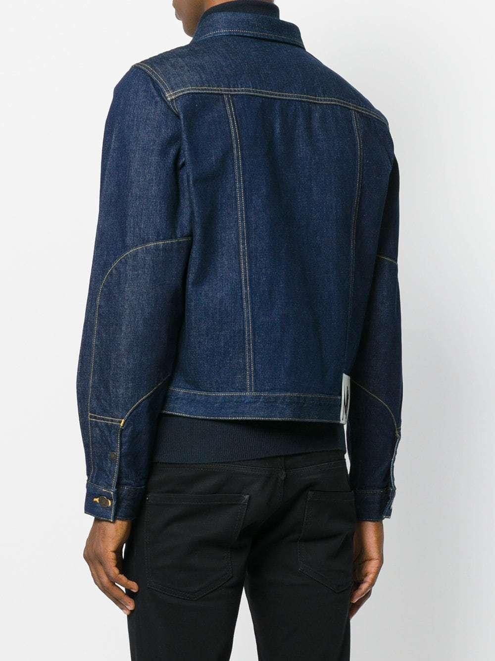 Calvin Klein Jeans Cropped Denim Jacket