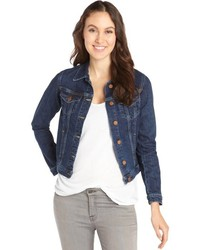 MiH Jeans Darling Wash Stretch Cotton The Denim Jacket