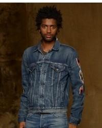 Denim & Supply Ralph Lauren Thompson Chiptak Denim Trucker Jacket