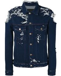 Golden Goose Deluxe Brand Distressed Denim Jacket