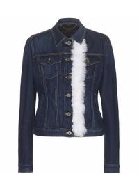 Burberry Embellished Denim Jacket