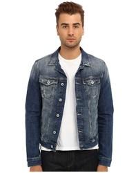 Mavi Jeans Frank Denim Jacket In Light Used Comfort