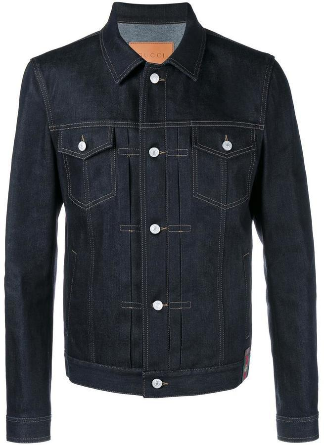 Gucci Raw Japanese Denim Jacket