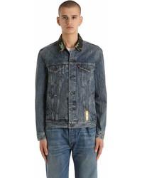 Levi's Hawaiian Collar Cotton Denim Jacket