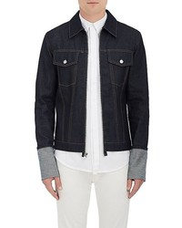 Helmut Lang Re Edition Denim Zip Front Shirt Jacket