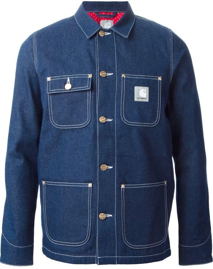 Carhartt Heritage Slam Jam Michigan Denim Jacket | Where to buy ...