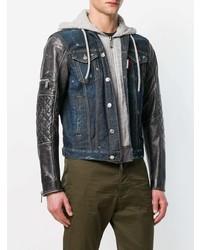 DSQUARED2 Hooded Denim Jacket